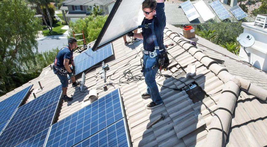 With solar panels, O.C.'s buildings could be generating almost as much energy as they use, report says