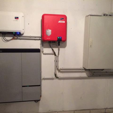 15 – LG RESU10H Installation – Greempower