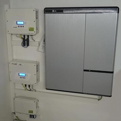 16 – LG RESU10H Installation – Greempower