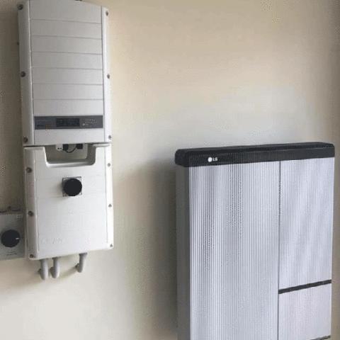 6 – LG RESU10H Installation – Greempower
