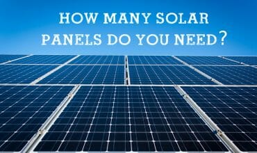 How many solar panels do you need to go 100 renewable